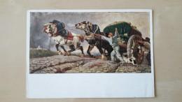 De Zware Last Door Karel Verlat(1824-1890) - 24/12/1944 - Cartes Postales