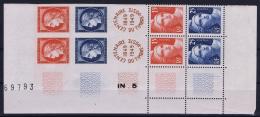 France: Yv 830 - 833 MNH/**/postfrisch/neuf Sans Charniere Double Bande Avec Bord De Feuille