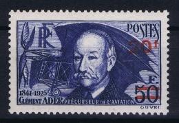 France: Yv Nr  493 MH/* Falz/ Charniere 1941
