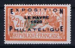France: Yv Nr  257A MNH/**/postfrisch/neuf Sans Charniere 1931 - France