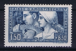 France: Yv Nr  252 Type 1 MH/* Falz/ Charniere 1928 - France