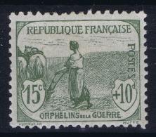 France: Yv Nr  150 MH/* Falz/ Charniere 1917 - France