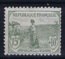 France: Yv Nr  150 MH/* Falz/ Charniere 1917 - Ongebruikt