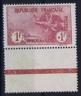 France: Yv Nr  154 MH/* Falz/ Charniere 1917  Bord De Feuille - France