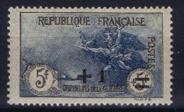 France: Yv Nr  169 MH/* Falz/ Charniere 1922 - France
