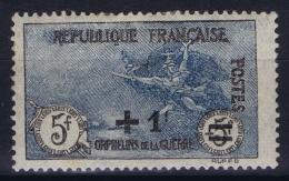 France: Yv Nr  169 MH/* Falz/ Charniere 1922 - Ongebruikt