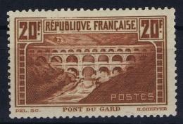 France: Yv Nr  262C  Type IIa   MH/* Falz/ Charniere  1930 - France