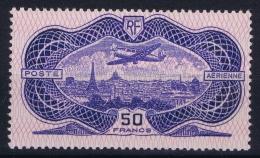 France: Yv Nr  AE 15  50 Franc  MH/* Falz/ Charniere   1936
