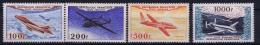 France: Yv Nr  AE 30 - 33  MH/* Falz/ Charniere 1954