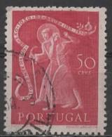 PORTUGAL 1950 400th Death Anniv Of San Juan De Dios - 50c  Saint And Invalid FU - 1910-... República