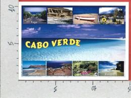 CARTOLINA VG CAPO VERDE - CABO VERDE - Panorama - Vedutine - 10 X 15 - ANN. 200? - Capo Verde