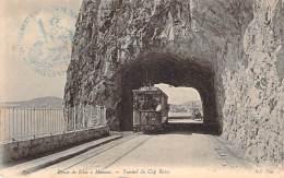 06 - Route De Monaco à Nice - Tunnel Du Cap ROux (tramway) (tampon 124e Régiment D'Infanterie De Ligne) - Non Classificati
