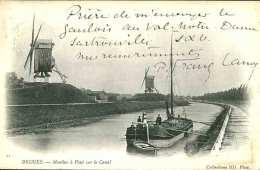 BRUGES - Moulins à Vent Sur Le Canal - Brugge