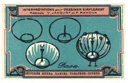 Chromo Chicorée Extra Voelcker-Coumes à Bayon ... Dessiner Simplement ...méthode Jacquot Et Ravoux ... Paon - Autres