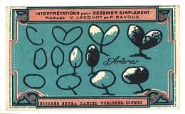 Chromo Chicorée Extra Voelcker-Coumes à Bayon ... Dessiner Simplement ...méthode Jacquot Et Ravoux ... Arbres - Autres