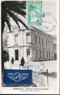 7793 Monaco,  Maximum 1949  Monaco  Antropology Museum - Architettura