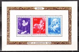 BL27**  Jordaens - MNH** - COB 170 - Vendu à 13.50% Du COB!!!! - Blocks & Sheetlets 1924-1960