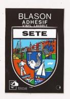 ( 34 ) SETE Blason Adhésif - Sete (Cette)