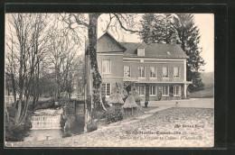 CPA Saint-Martin-Osmonville, Moulin Sur La Varenne Au Château D'Osmonville - Francia