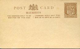 7806 Mauritius,  Stationery Card  2c. - Mauritius (...-1967)
