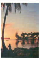 CPM TAHITI COUCHER DE SOLEIL PHOTO A SYLVAIN 135 - Hold To Light