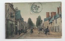 72 -  LE MANS -  BELLE ANIMATION BOULEVARD DE LA REPUBLIQUE -  TABAC, BUVETTE, COIFFEUR, CAFÉ YVON…..1907 - Le Mans