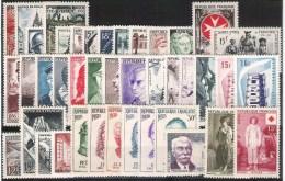 FRANCE  1956* Année Complete Avec Charniere  41 Valeurs * Y&T = 96,00 Euro - 1950-1959