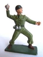 SOLDAT FIGURINE FIG STARLUX 1958-59 Combatant Série Luxe 5009 Grenadier ARMEE MODERNE - Starlux