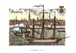 NAVI - GERMANIA (1635) - ILLUSTRATORI NICOULINE LAVARELLO - Altre Illustrazioni