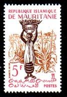 MAURITANIE. N°145 De 1960-1. Récolte Du Mil. - Agriculture
