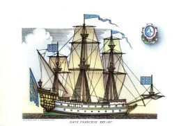 NAVI - NAVE FRANCESE (XVII SEC.) - ILLUSTRATORI NICOULINE LAVARELLO - Altre Illustrazioni