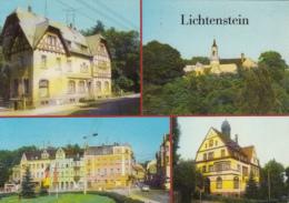 40946- LIECHTENSTEIN- CASTLE, GARDEN, TOWN HALL, STREET VIEW, CAR - Liechtenstein