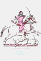 CAVALIERI D´OGNI TERRA - ASSIRIA - RE ASSURBANIPAL ALLA CACCIA (668-626 A.C.) - ILLUSTRATORE VSEVOLODE NICOULINE - Illustratori & Fotografie