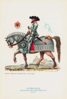 CAVALIERI D´OGNI TERRA - GERMANIA - MAGGIORE DEI LANZICHENECCHI (1525) - ILLUSTRATORE NICOULINE - Illustratori & Fotografie