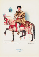 CAVALIERI D´OGNI TERRA - FRANCIA - CORTIGIANO (1541) - ILLUSTRATORE NICOULINE - Illustratori & Fotografie