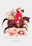 CAVALIERI D´OGNI TERRA - PERSIA - BAHRAM GUR CACCIATORE (1560) - ILLUSTRATORE NICOULINE - Altre Illustrazioni