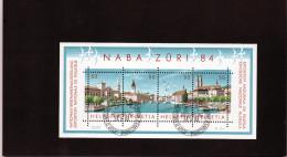 B - 1984 Svizzera - Esposizione Int. Di Filatelia A Zurigo - Blocks & Sheetlets & Panes