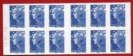 Timbres - Carnet  - Export Daté 13-01-10 Bleu Marianne De Beaujard - Sans Valeur - Faciale 12 € - Booklets