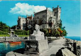 TRIESTE   CASTELLO  DI  MIRAMARE      (NUOVA) - Trieste