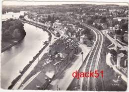 58 - EN AVION AU-DESSUS DE...St-LEGER-des-VIGNES (Nièvre) - Vue Générale - 1959 - Autres Communes