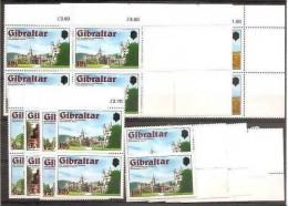 1978 Gibilterra Gibraltar REGINA ELISABETTA, CORONATION QUEEN ELISABETH 8 Serie Di 4v. (372/75) MNH** Bl.4+2+1+1 - Gibilterra