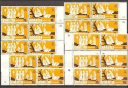 1980 Gibilterra Gibraltar NATALE (coppia)  CHRISTMAS 10 Serie Di 2v. (416/17) MNH** - Gibilterra
