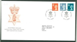 FDC IRELAND - IRLANDA - ROYAL MAIL- ANNO 2000 - NEW DEFINITIVE STAMPS - NORTHERN IRELAND - BELFAST - - FDC
