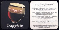 Sous-bock – Sottobicchieri – Beer Coaster - CHIMAY - Trappiste - - Sous-bocks