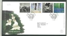 FDC GRAN BRETAGNA - GREAT BRITAIN -  ROYAL MAIL- ANNO 2000  - STONE AND SOIL - KILLYLEAGH - PIETRE - - FDC