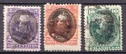 Peru Used Overprinted Stamps - Peru