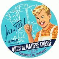 9  ETIQUETTE FROMAGE LE JEAN PAUL - Cheese