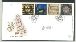 FDC GRAN BRETAGNA - GREAT BRITAIN -  ROYAL MAIL- ANNO 2000  - SPIRIT AND FAITH - DOANTRICK - - FDC