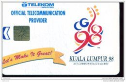 MALAISIE MALAYSIA COMMONWEALTH GAMES KUALA LUMPUR 98 GEM 20RM UT - Malaysia