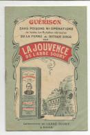 LIVRET PUBLICITAIRE DE LA JOUVENCE DE L'ABBE SOURY - Advertising